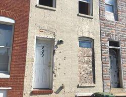 BALTIMORE CITY Foreclosure